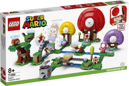 LEGO Super Mario 71368 Ekstrabanen Toads Skattejakt