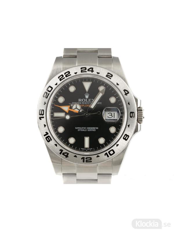 Begagnad Rolex Explorer II 42 Oyster Perpetual 216570