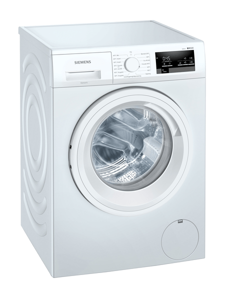 Siemens Wm12uul8dn Iq500 Tvättmaskin - Vit