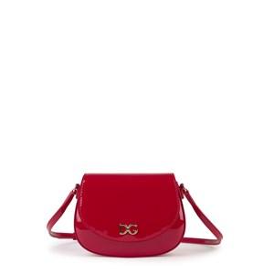 Dolce & Gabbana Leather Axelväska Röd one size