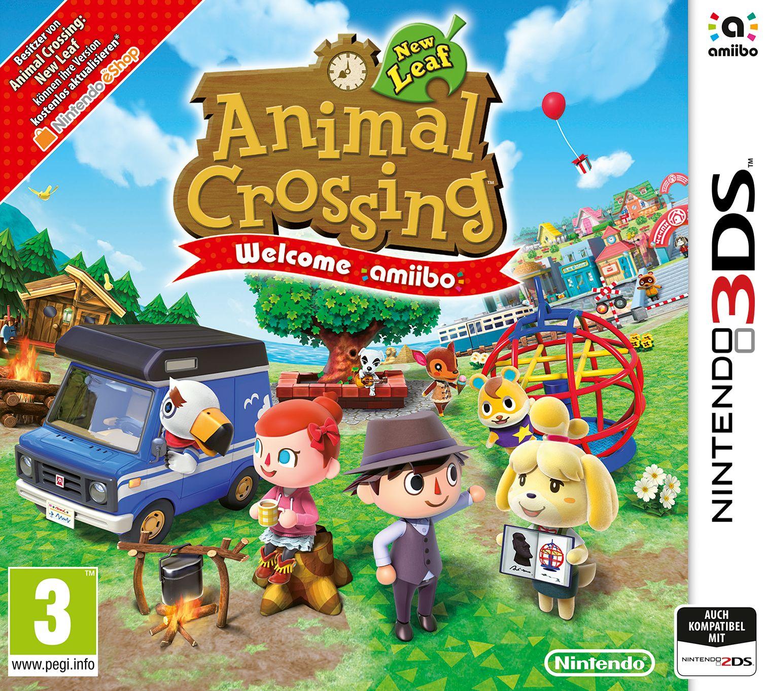 Animal Crossing: New Leaf - Welcome Amiibo (Select)