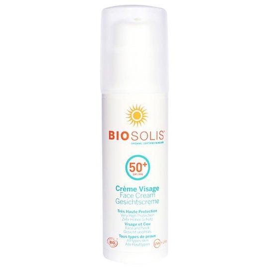 Biosolis Face Cream SPF 50+, 50 ml
