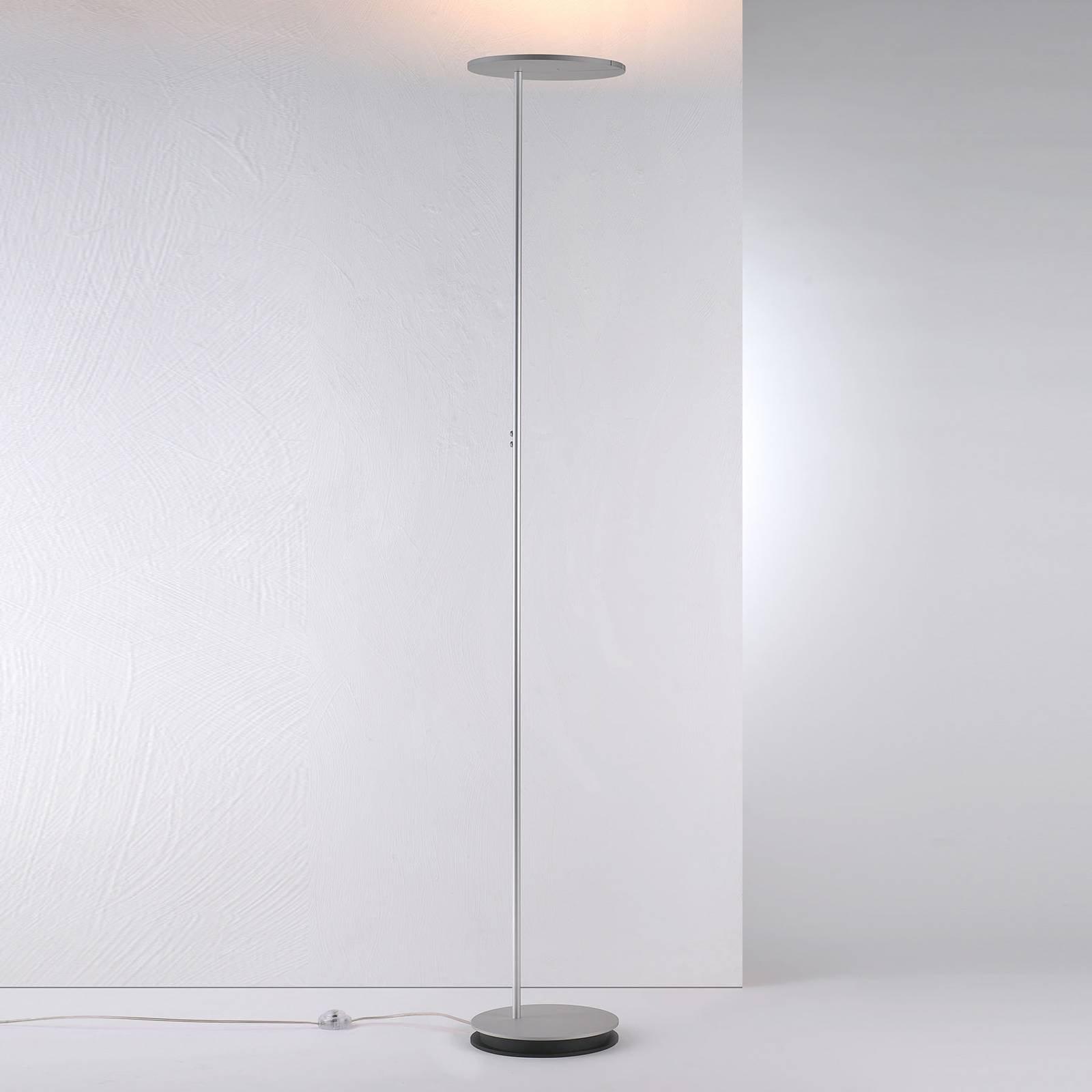 Bopp Share LED-uplight med leselampe, alu