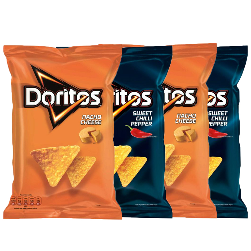 Doritos 4-pack - 34% rabatt