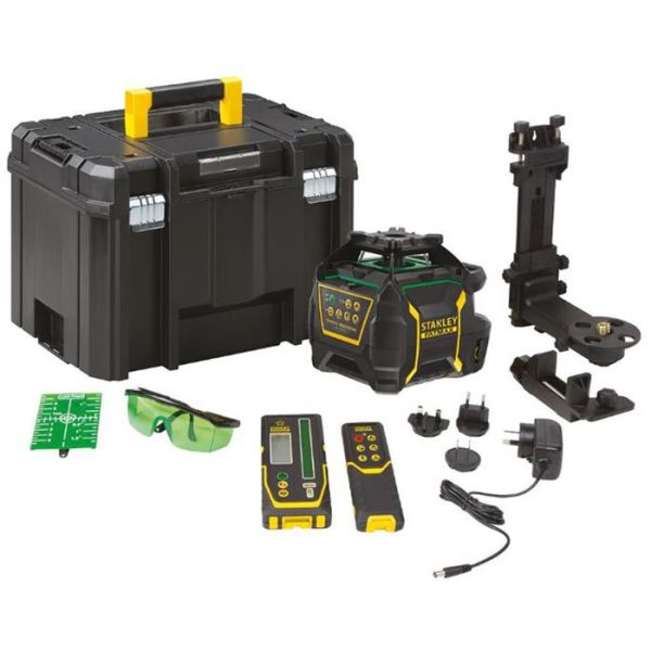 STANLEY FatMax RL750LG Pyörivä laser vihreä laser