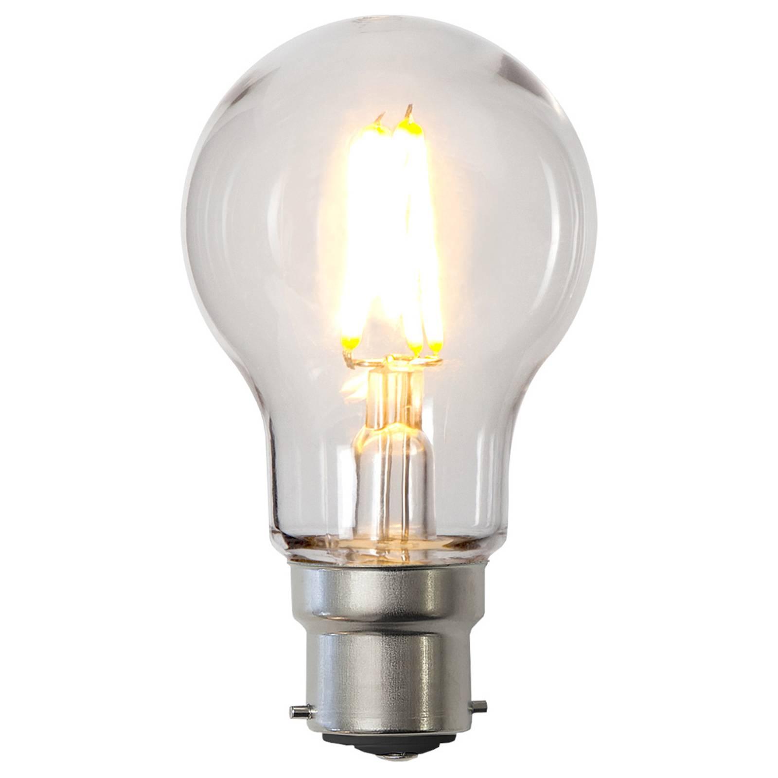 LED-lamppu B22 A55 2,4W polykarbonaattia, kirkas