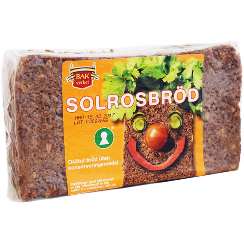 Solrosbröd 500g - 75% rabatt