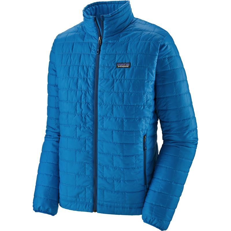 Patagonia Nano Puff Jacket L Foret jakke, herre, Andes Blue