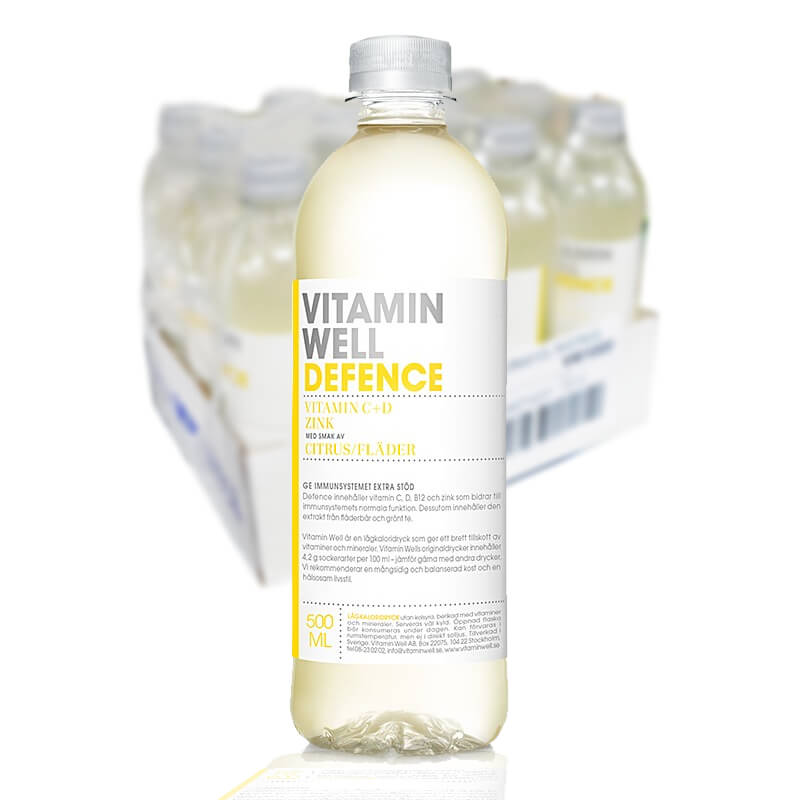 VITAMIN WELL DEFENCE 50CL - 12 st