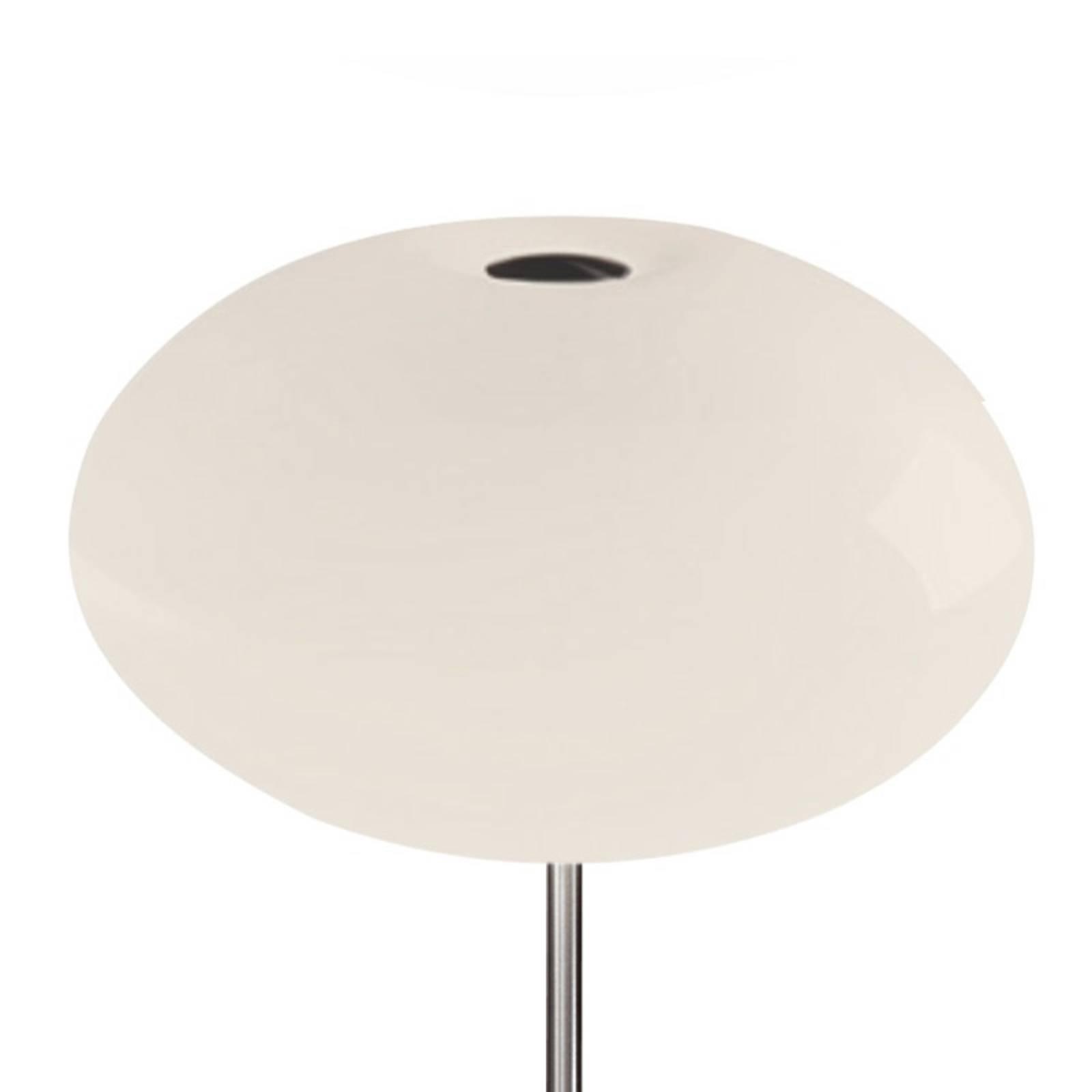 Casablanca Aih bordlampe, Ø 28 cm krem blank