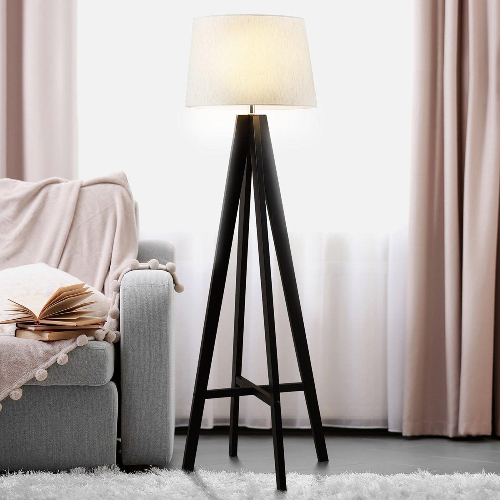 Tekstil stålampe Maura