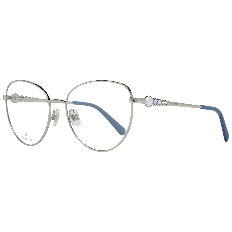 Swarovski Women's Optical Frames Eyewear Silver SK5332 56016