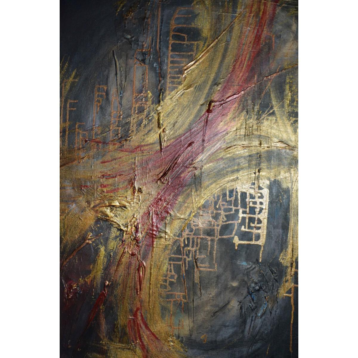 'The Confluence' Oil on Canvas