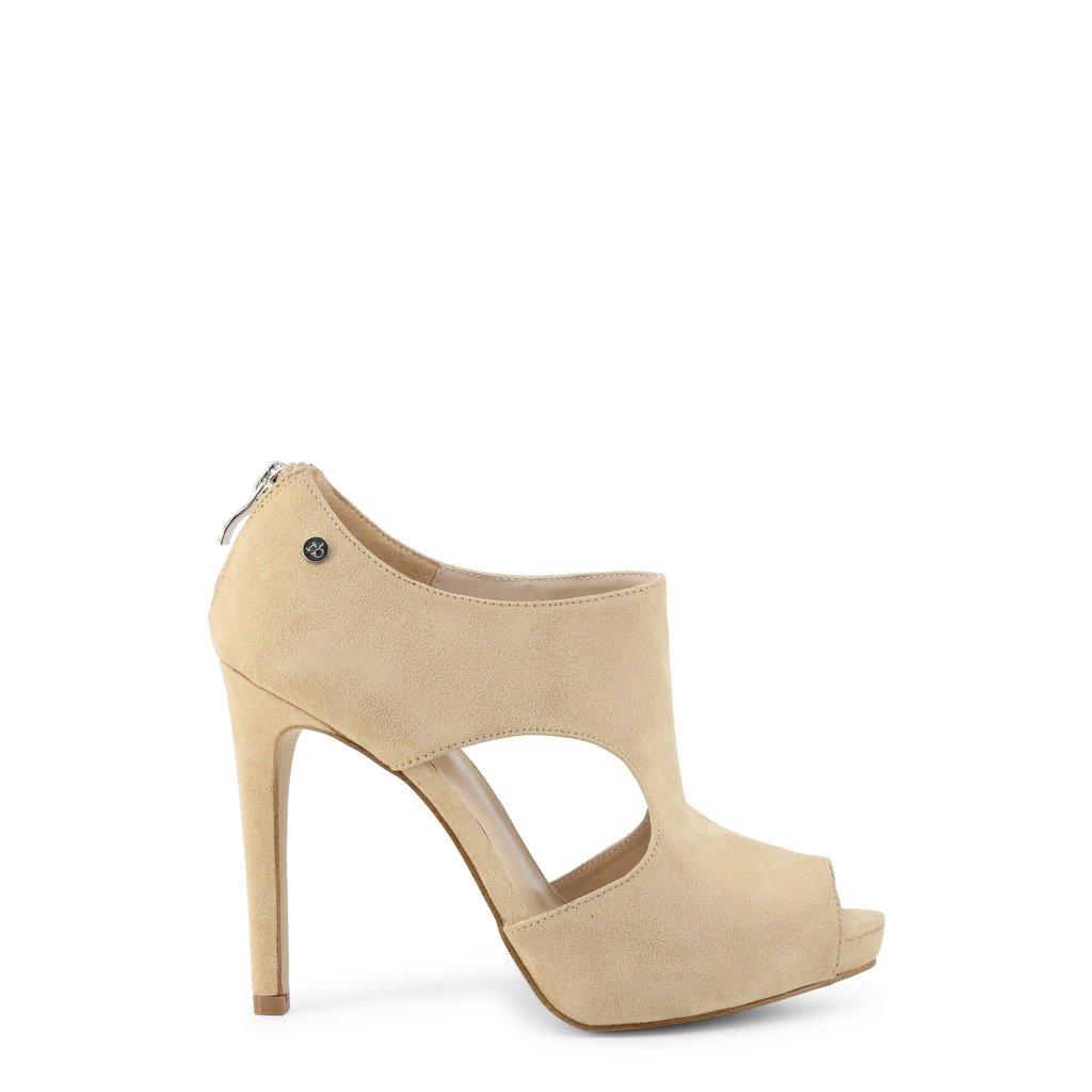 Roccobarocco Women's Sandal Brown RBSC0LY04CAM - brown EU 37