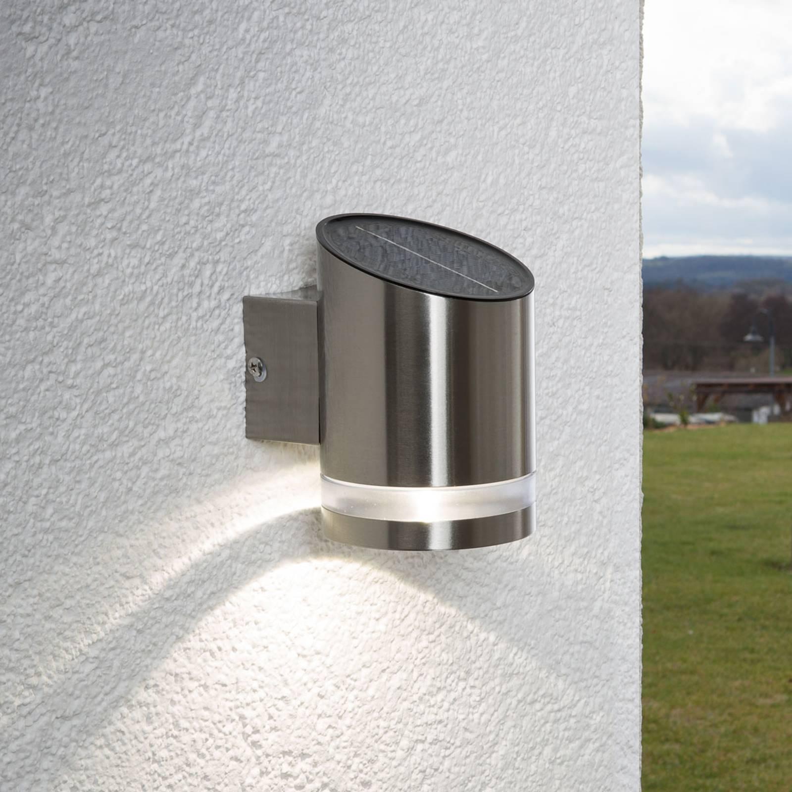 LED-solarvalaisin Salma kiinnitettäväksi seiniin