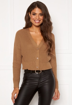ONLY Laysla Life L/S Cardigan Toasted Coconut M