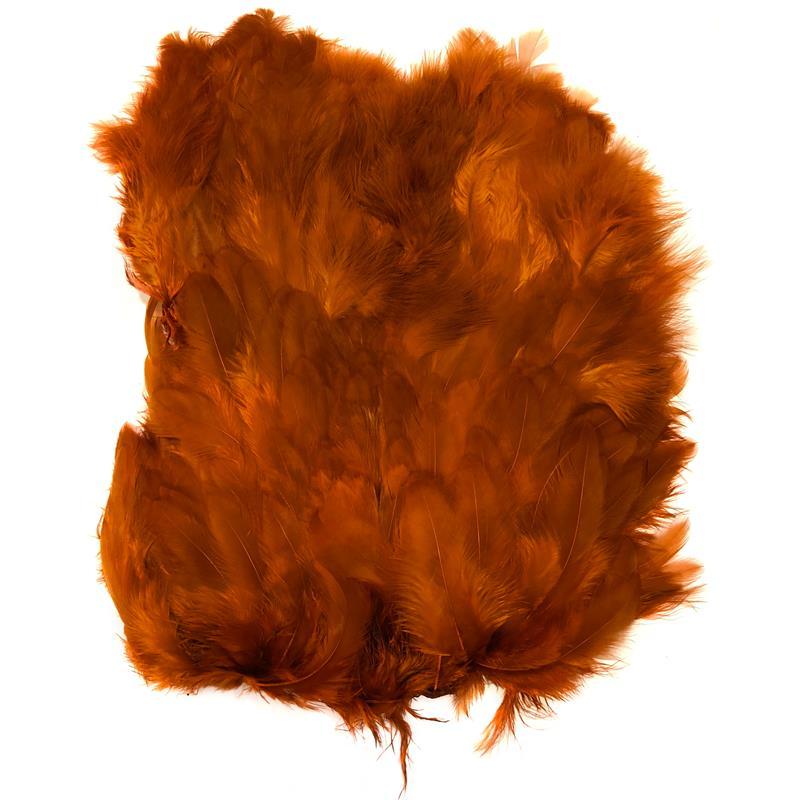 Softhackle patch Burnt Orange