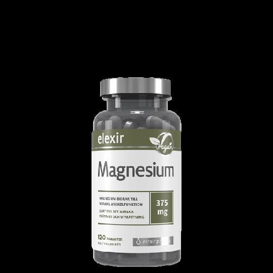 Magnesium 375 mg, 120 tabletter
