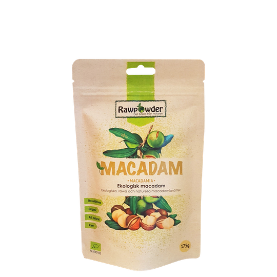 Macadam nötter Naturella EKO, 175 g