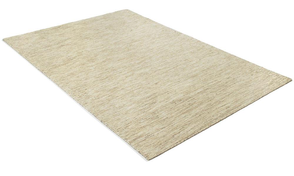 Afro lys sand - håndvevd ullteppe