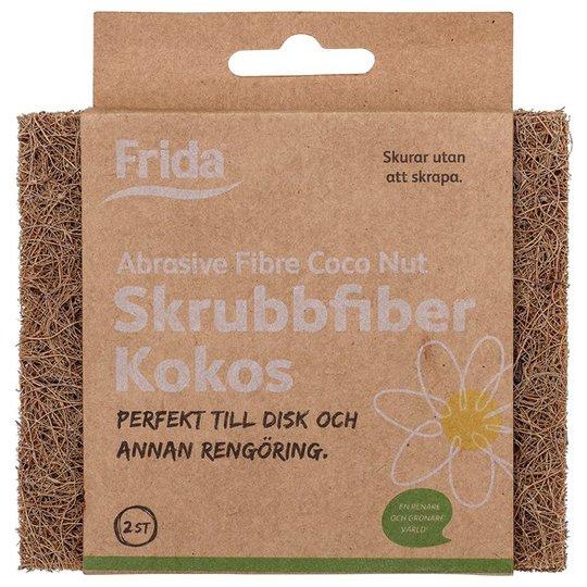 Frida Skrubbsvamp Kokosfiber, 2-pack
