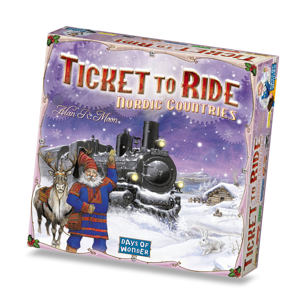 Ticket To Ride - Nordic Countries (Nordic)