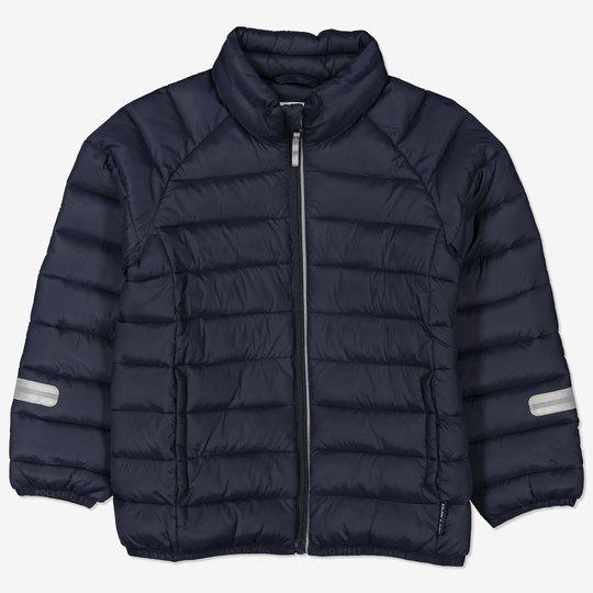 Lett jakke mørkblå