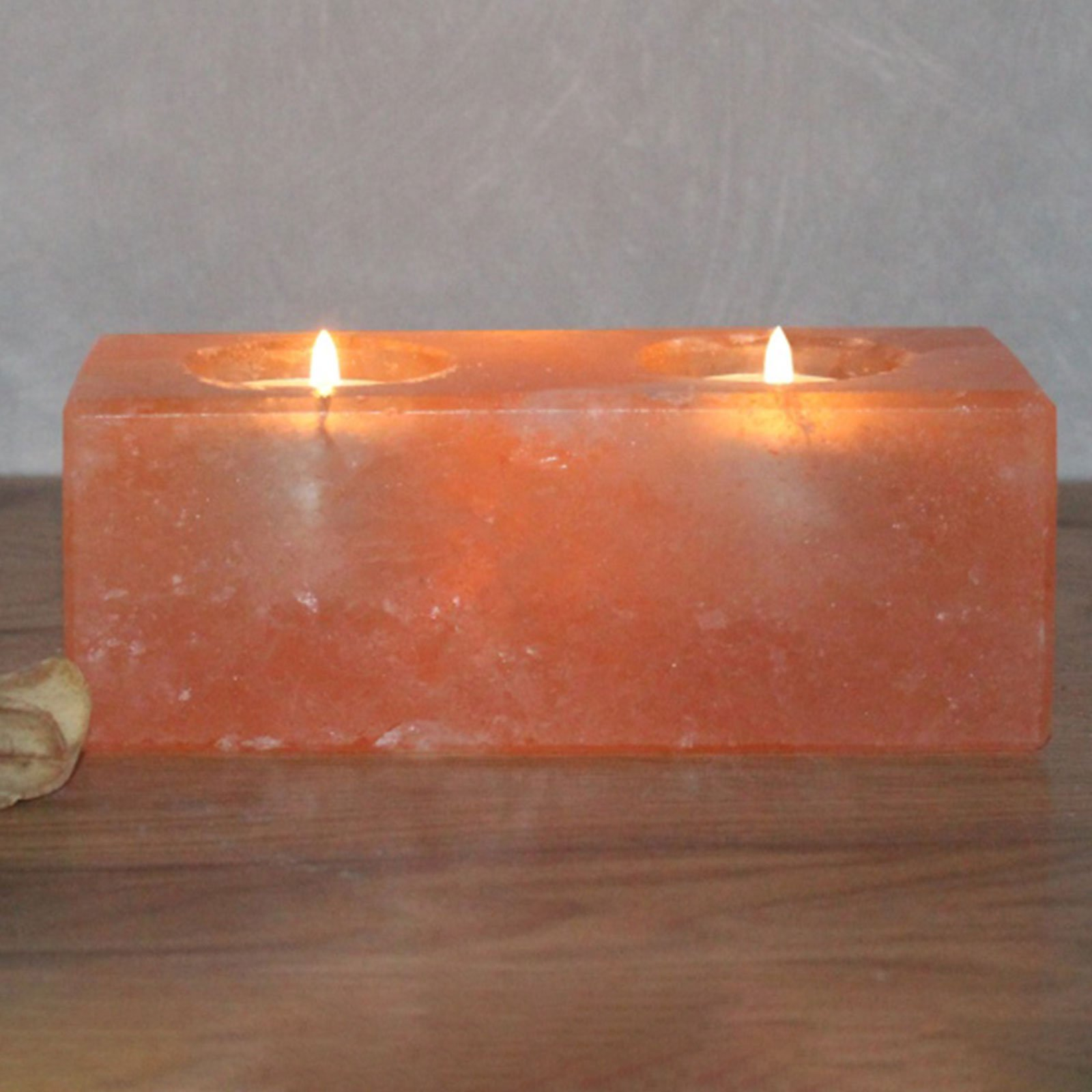Twin Cube saltkrystall-telysholder