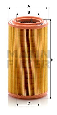 Ilmansuodatin MANN-FILTER C 1286/1