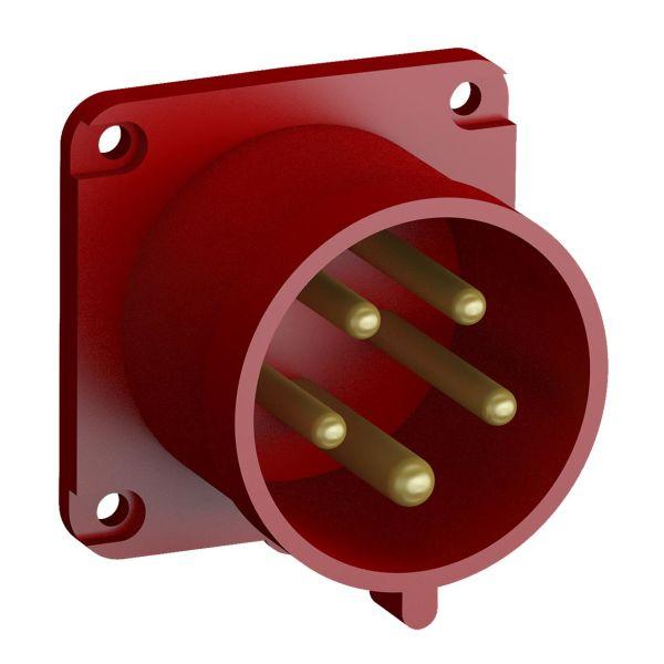 ABB 2CMA102390R1000 Paneelin sisääntulo pikaliitettävä, tärinänkestävä Suora, 5-napainen, 32 A, 60x60 mm