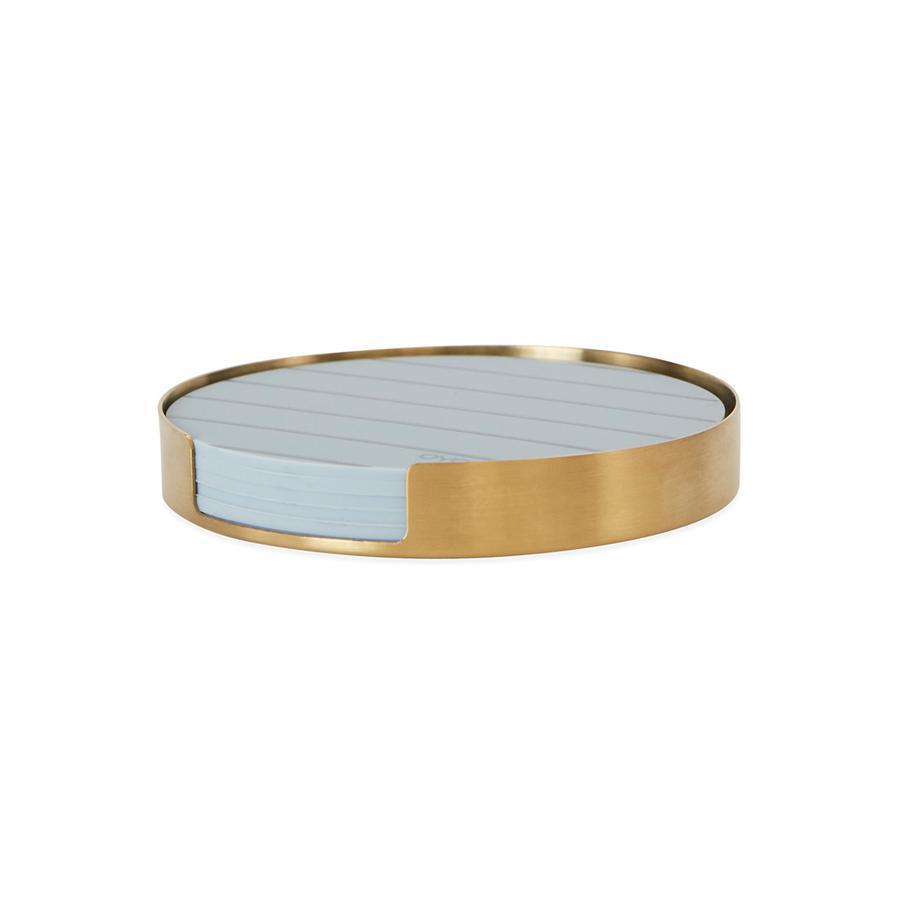 OYOY Living - Oka Coaster set - Brass