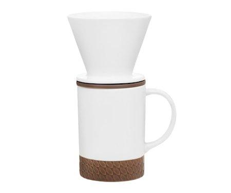 Maku Solo Keramisk Kaffekopp og Filtersett