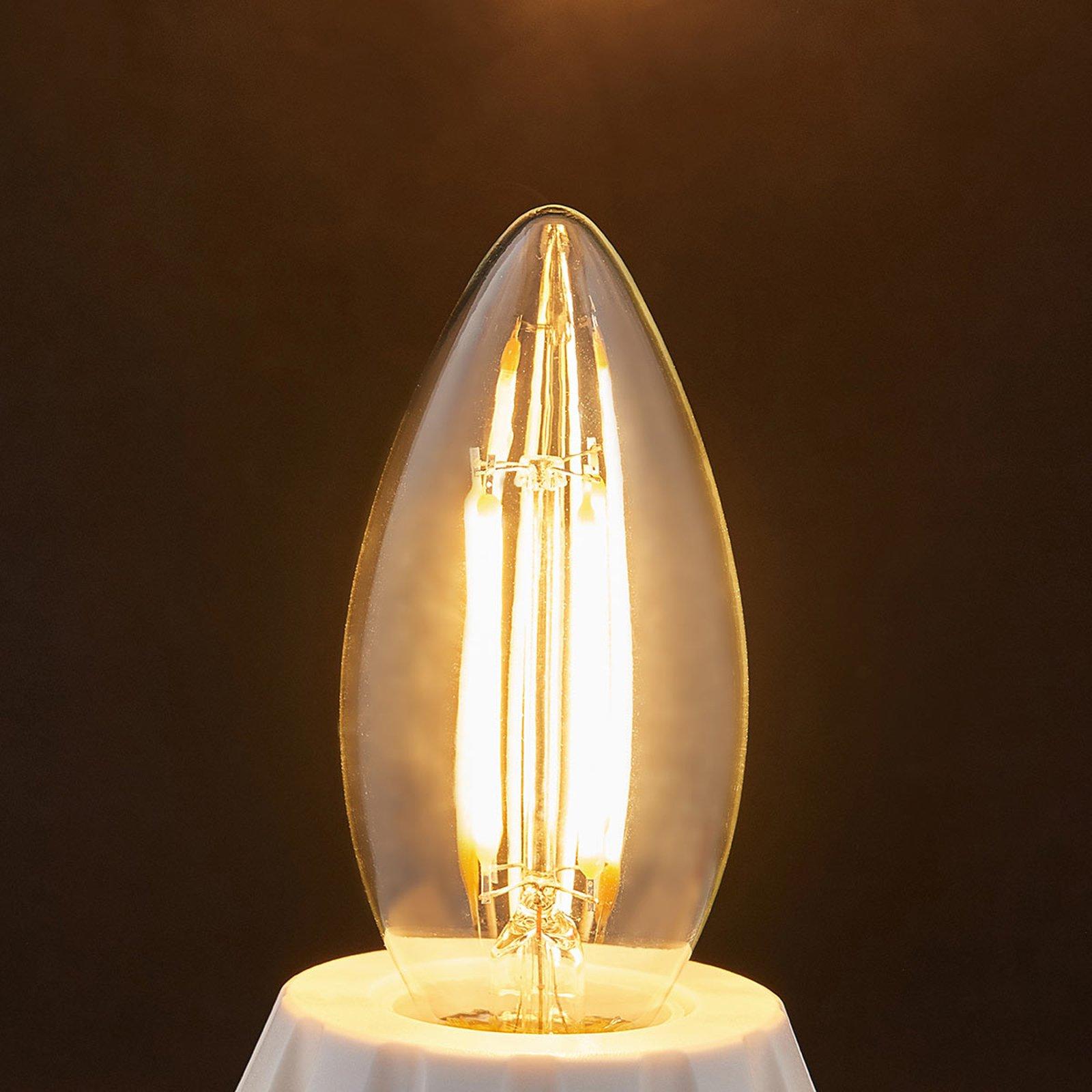 E14 LED-mignonpære filament 4 W, 470 lm, 2 700 K