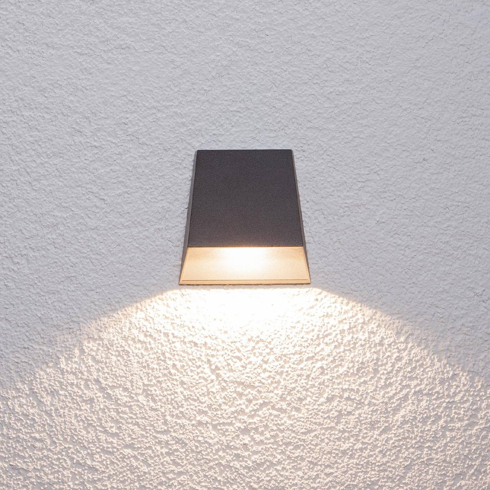 Laajasti loistava Hanno-ulkoseinävalaisin LEDeillä