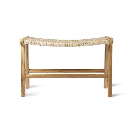 Lounge Ottoman Abaca/Tteak