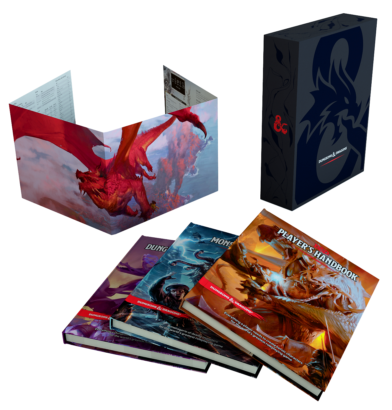 Dungeons & Dragons - 5th Edition Core Rulebook - Gift Set (WTCC5872)