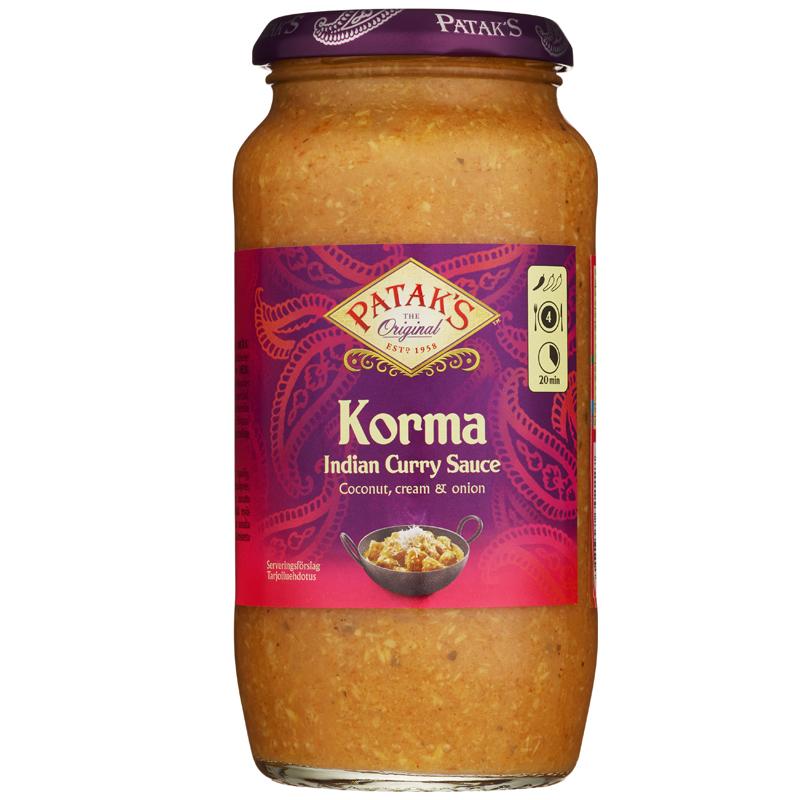 Såsbas Korma Curry - 42% rabatt
