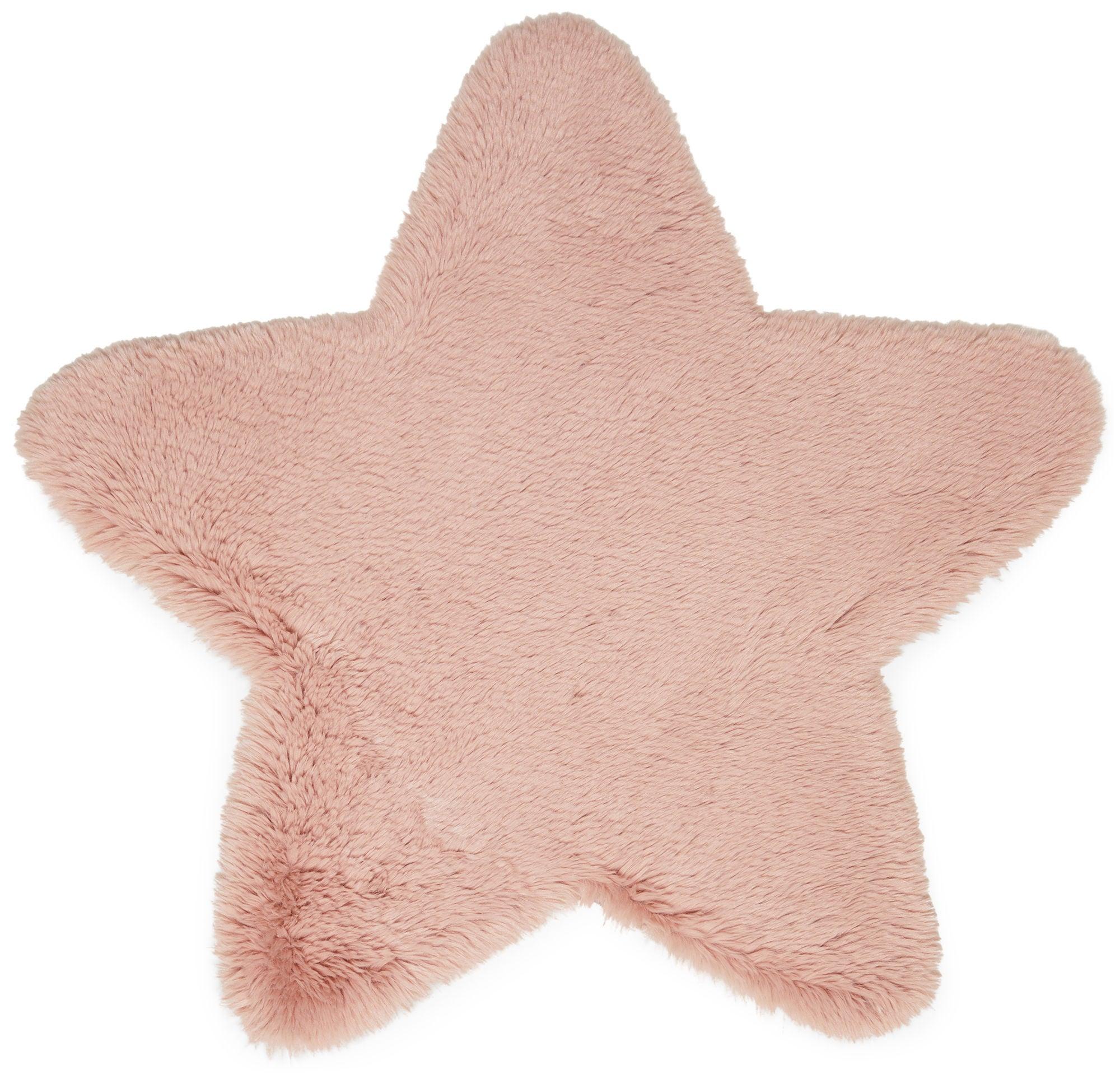 Alice & Fox Matto Fake Fur Star, Pink
