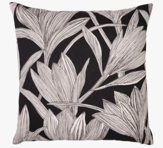Linear-Iris koristetyyny musta