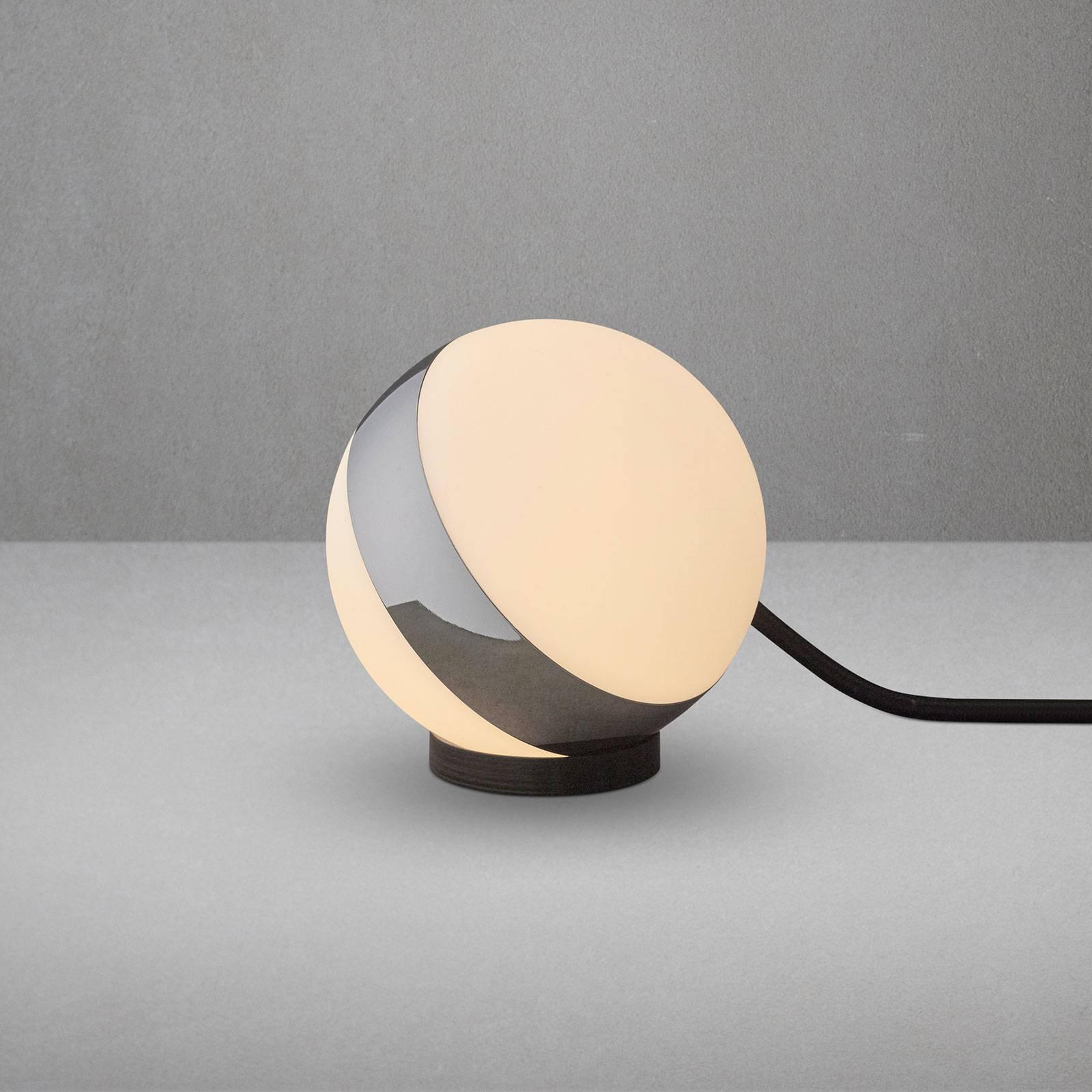 Bordlampe Circle i kuleform, høyde 12 cm