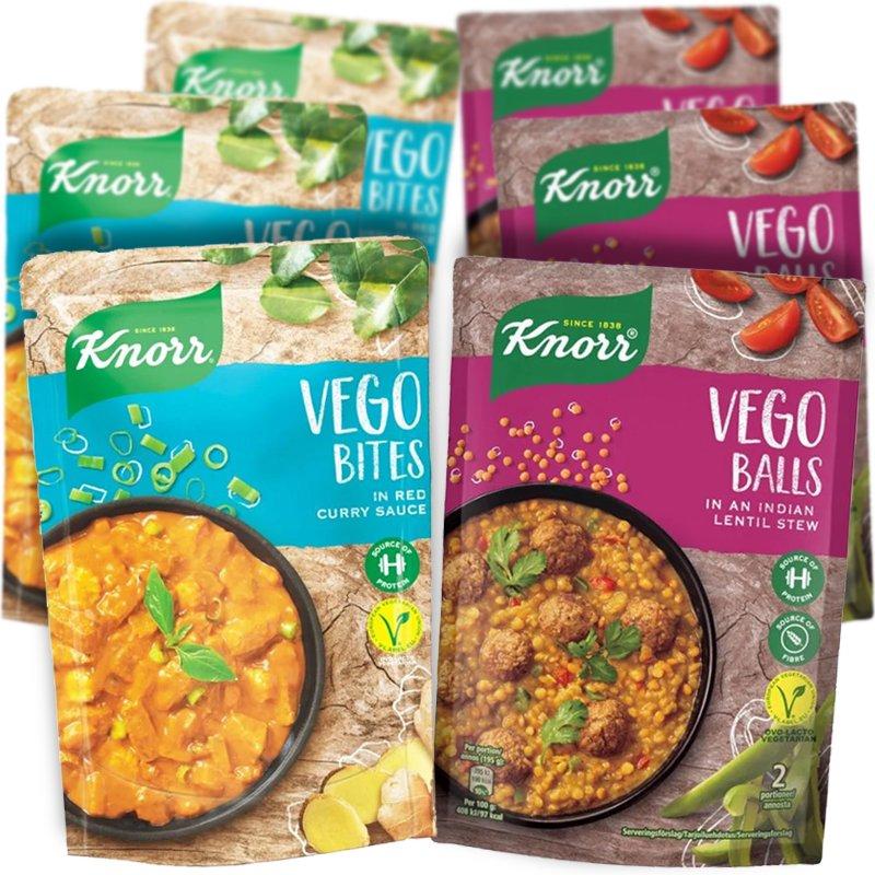 Vegetariska måltider 6-pack - 60% rabatt