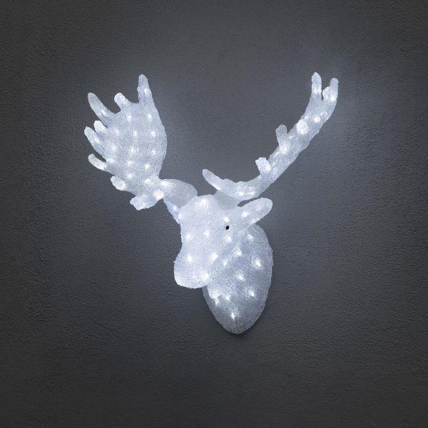 Konstsmide 6265-203 Hirvenpää akryyli, LED, 65 cm, 24V/IP44