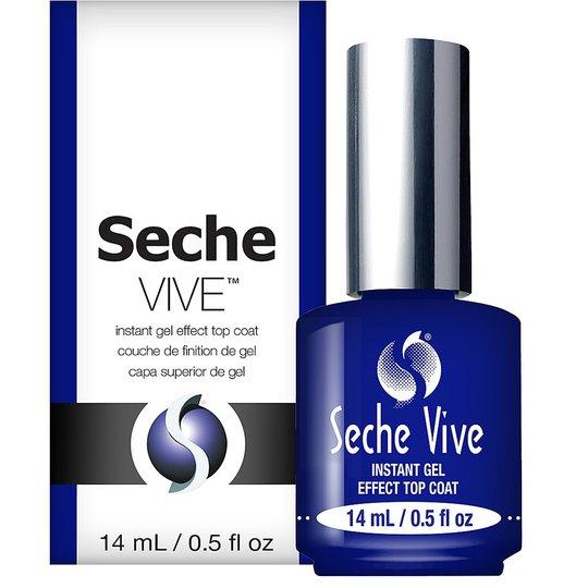 Seche Vive Gel Effect Top Coat, 14 ml Seche Kynsilakat