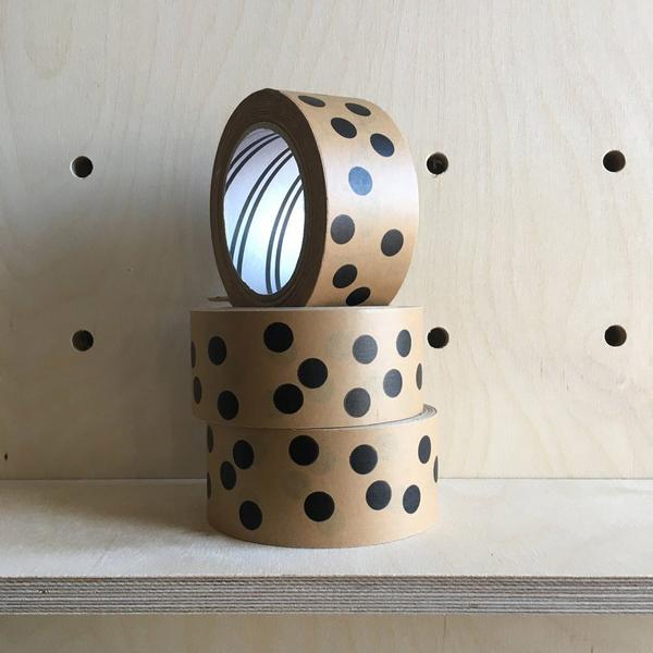 Spotty Eco Kraft Tape