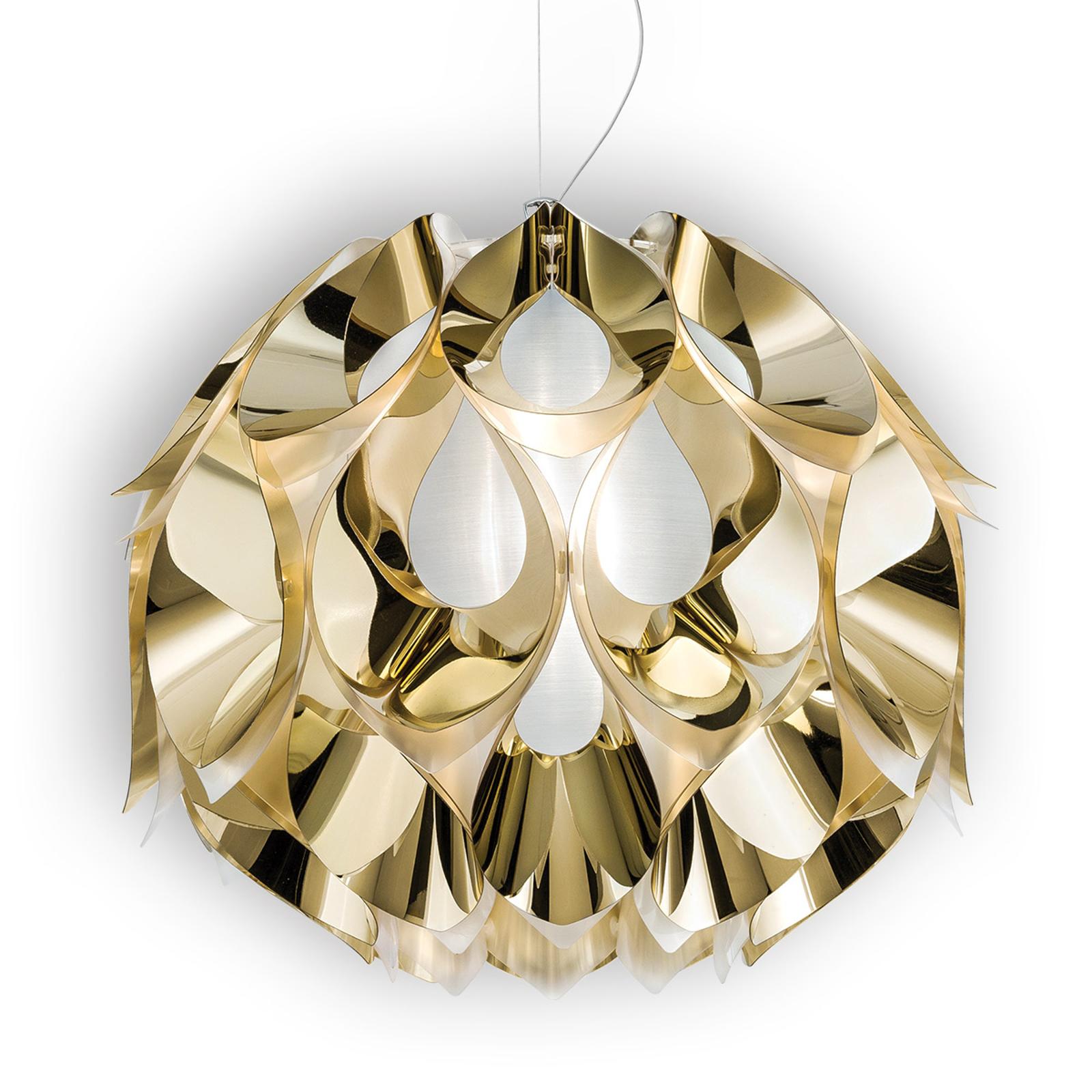 Kultainen riippuvalaisin Flora, 50 cm