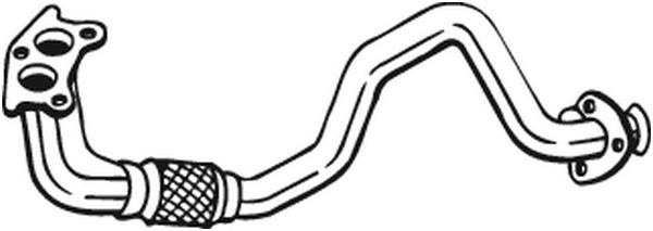 Pakoputki BOSAL 753-113