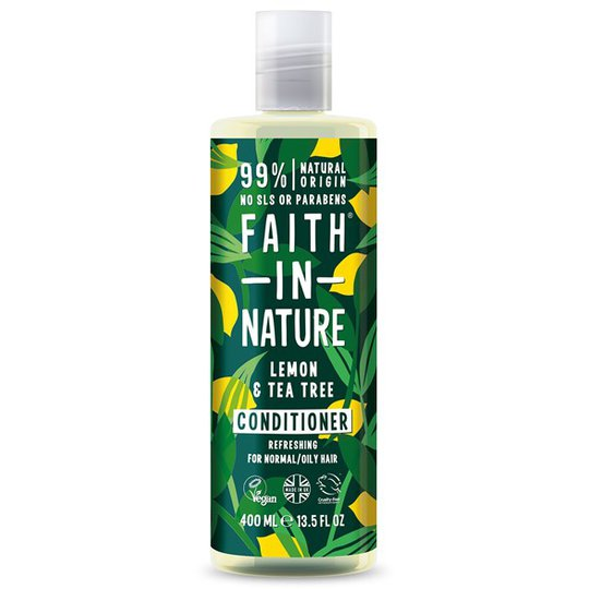 Faith in Nature Lemon & Tea Tree Conditioner, 400 ml