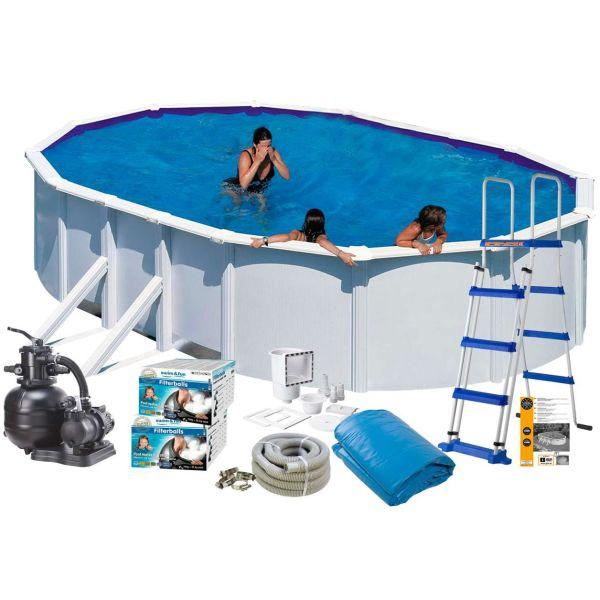 Swim & Fun 2729 Allaspaketti 7,3 x 3,75 x 1,32 m, 28 217 l