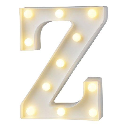 Bokstav med LED-Belysning - Bokstav Z