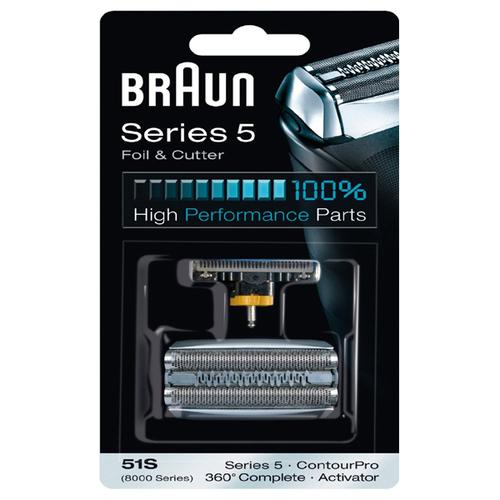 Braun 51s Multi Silver Combi Pack Tillbehör